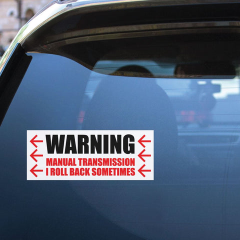 Manual Transmission Sticker Decal