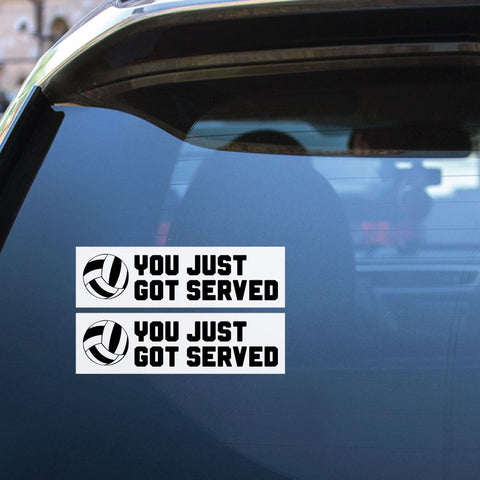 2X Your Ball Serve Sticker Decal