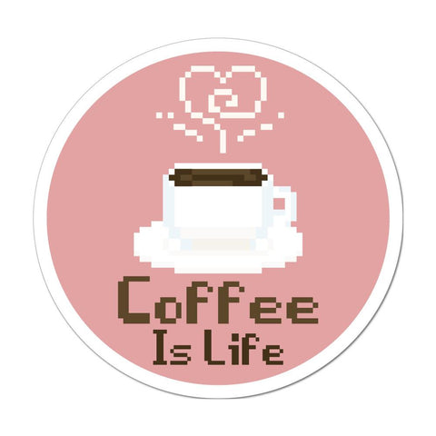 Coffee Is Life Sticker Decal