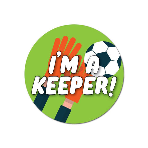 I Am A Keeper Sticker Decal
