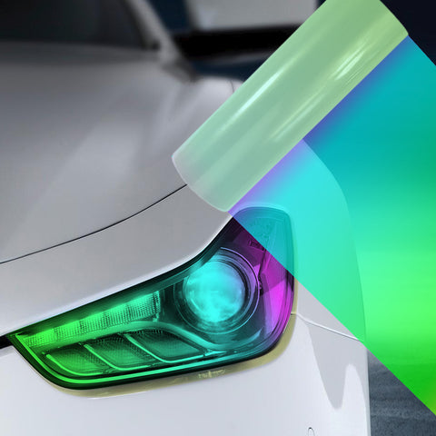 A4 Pearl Car Headlight Fog Light Tint Film