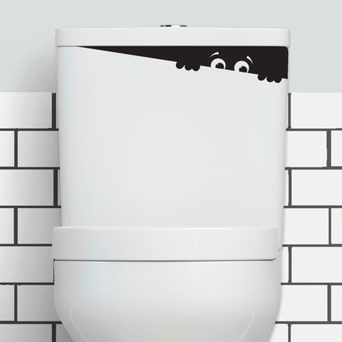 TOILET MONSTER HELLO STICKER