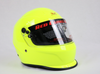 Neon Yellow Metallic Helmet SNELL2015 Approved