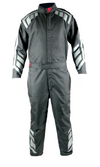 Archer 1.0 Double Layer SFI 3.2A/5 Rated Suit Black with Grey