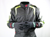 Aurora 2.0 Single Layer SFI 3.2A/1 Rated Fire Suit Black/Neon Green