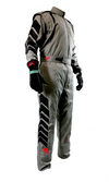Aurora 2.0 Double Layer SFI 3.2A/5 Rated Suit Grey/Black