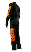 Aurora 2.0 Single Layer SFI 3.2A/1 Rated Fire Suit Black/Neon Orange