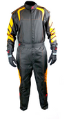 Aurora 2.0 Double Layer SFI 3.2A/5 Rated Suit Black/Orange