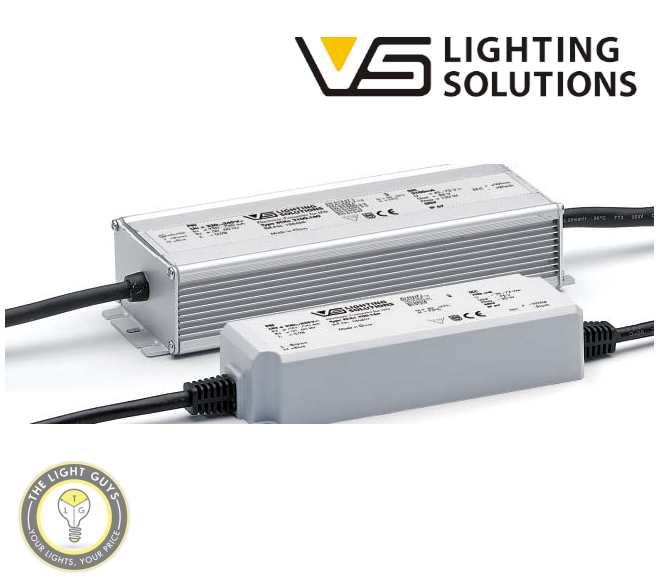 VOSSLOH-SCHWABE LED Constant Voltage Drivers 75W | 150W 24V 240V IP67 - TheLightGuys