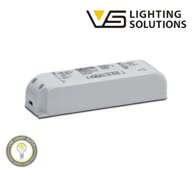 VOSSLOH-SCHWABE LED Constant Voltage Drivers 30W 24V 240V IP20 - TheLightGuys