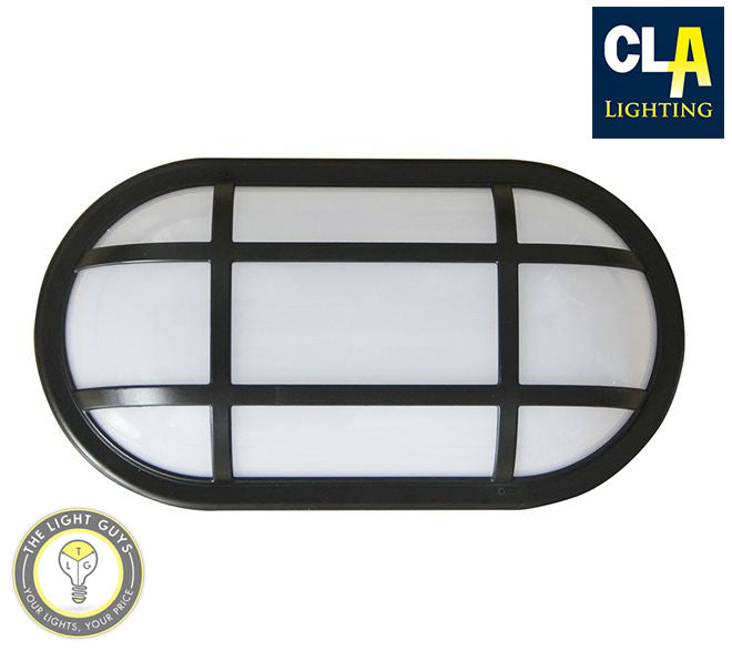 CLA LED Bulkhead with Cage Guard 20W 3000K | 5000K - TheLightGuys