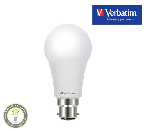 VERBATIM LED Classic A Globe 10W E27 | B22 3000K | 4000K | 6500K Non dimmable - TheLightGuys