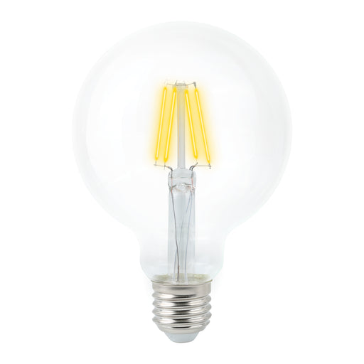 VERBATIM Filament G95 Grand Classic 4.5W Clear Dome Dimmable Globes 2700K E27 | B22 - TheLightGuys