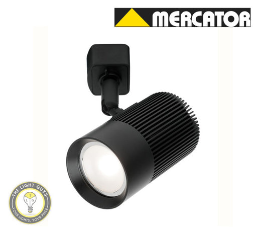 MERCATOR LED GU10 Cowley 9W Track Light Black | White - TheLightGuys