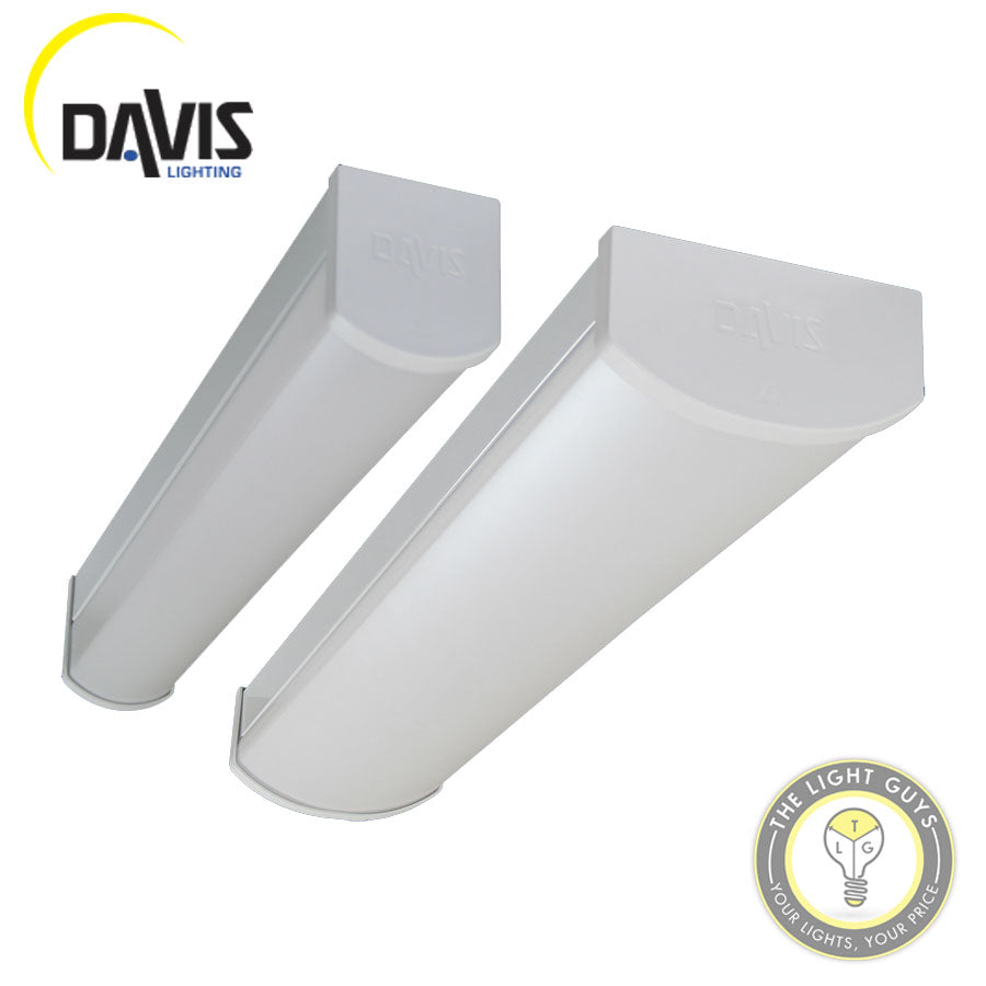 DAVIS ASCELLA Slim/Wide Body Indoor LED Battens 4K 20W | 35W | SLIM | WIDE BODY - TheLightGuys