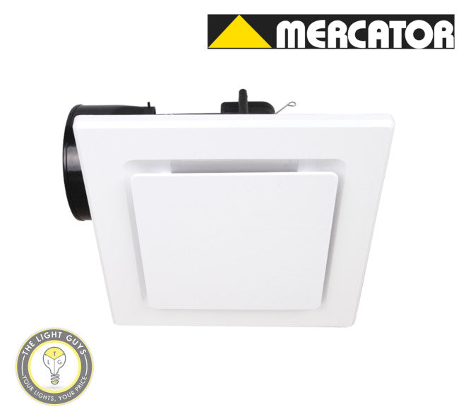 MERCATOR NOVALINE-II 240 SQUARE Silver | White | Black - TheLightGuys