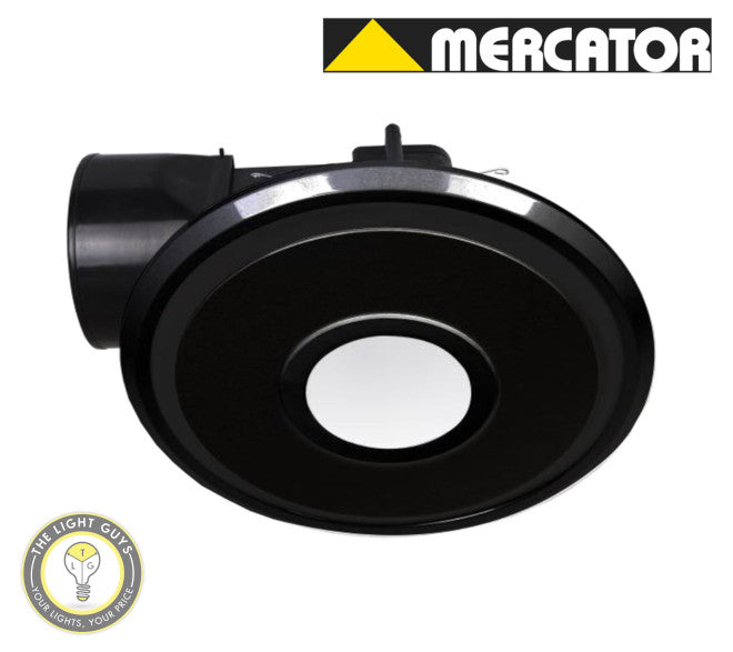 MERCATOR Emeline II 240 10W LED ROUND Black | White - TheLightGuys