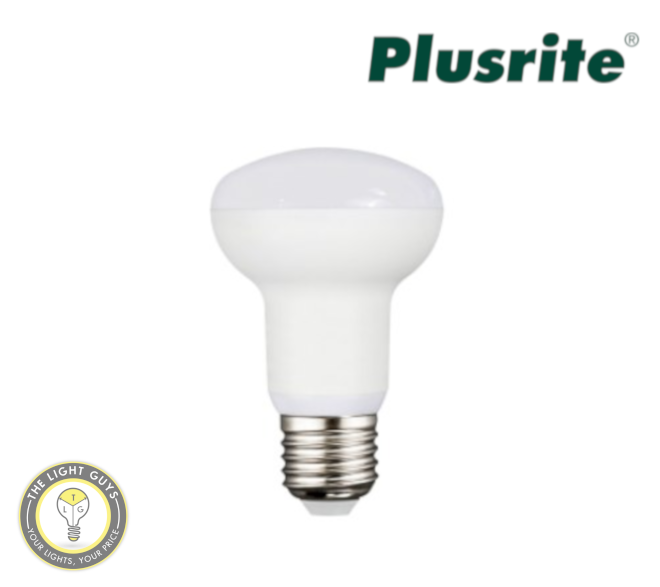 PLUSRITE LED R80 10W 240V Frosted E127  120° 5000K Dimmable - TheLightGuys