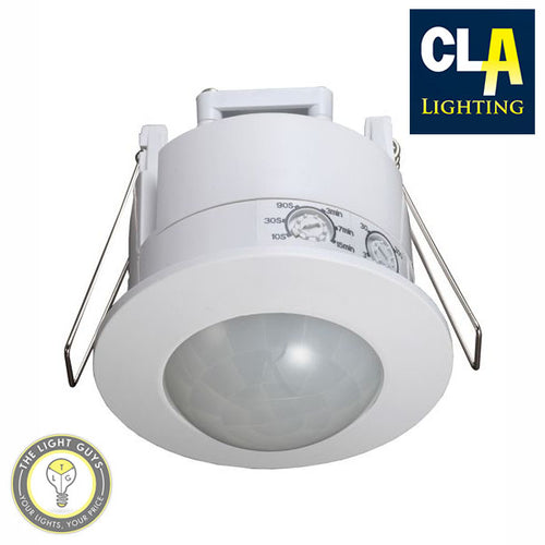 CLA Recessed 360° IP20 Infrared Motion Sensor - TheLightGuys