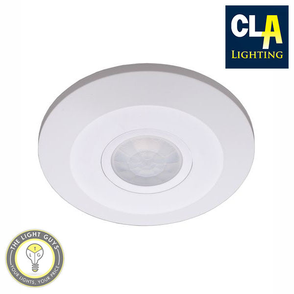 CLA Slimline Surface Mount 360° IP20 Infrared Motion Sensor - TheLightGuys