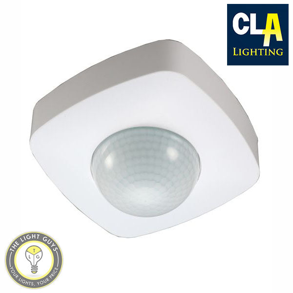 CLA Long Range (20M) Surface Mount 360° IP20 Infrared Motion Sensor - TheLightGuys