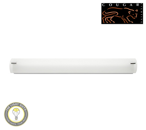 COUGAR LIGHTING Vanity Light 14W T5 650mm Frosted Glass (Fluoro tube included) - TheLightGuys