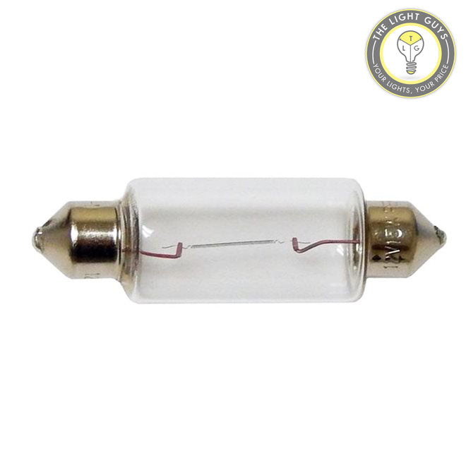 GENERIC Festoon Licence Plate Lamp 5W | 15W 12V SV8.5 41 x 15mm - TheLightGuys