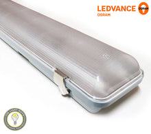 LEDVANCE DAMPPROOF PRO Batten 20W | 40W 220-240v 4K | 6.5K IP65 IK08 1200mm - TheLightGuys