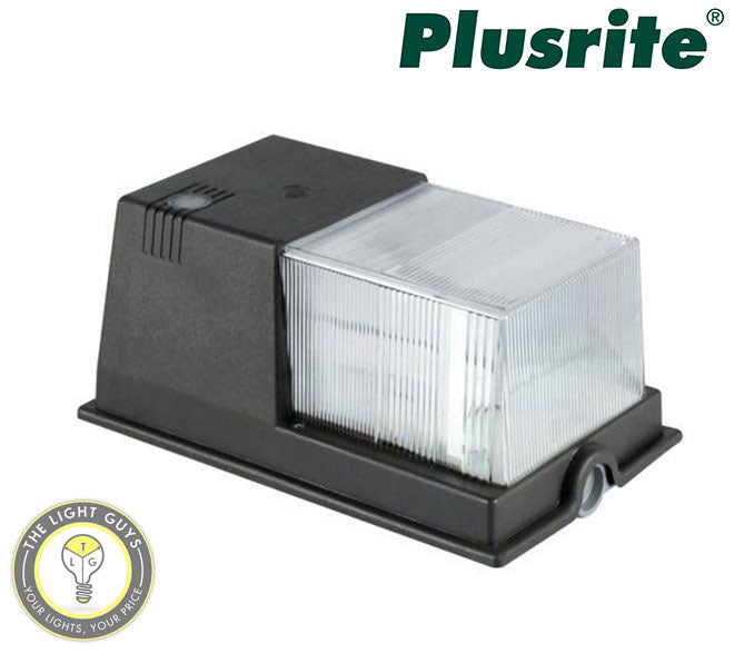 PLUSRITE LED Security Wall Light 20W 100-277V 5000K - TheLightGuys