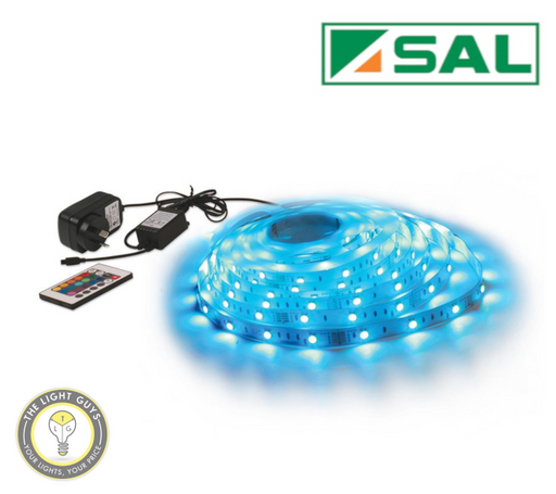 SAL 12V RGB 5M LED Strip Kit - TheLightGuys