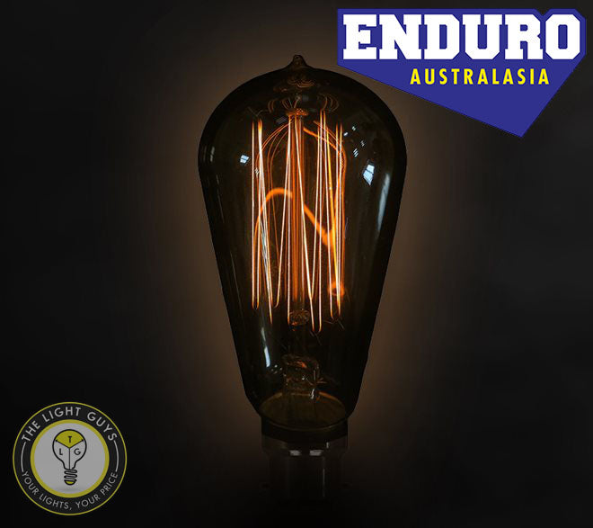 ENDURO ST58 25W ES | BC Carbon filament Squirrel Cage - TheLightGuys