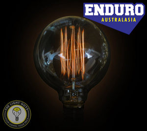 ENDURO G95 25w ES Carbon Filament Squirrel Cage - TheLightGuys