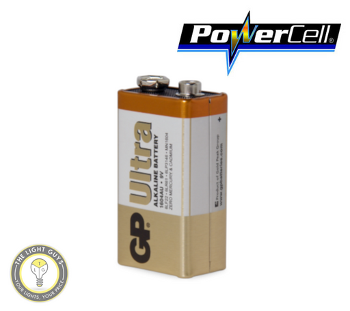 POWERCELL 9V UItra Alkaline GP Battery - TheLightGuys
