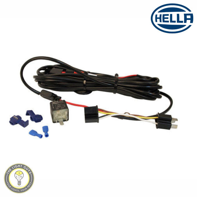 HELLA LED Light Bar Wiring Kit 5222 - TheLightGuys