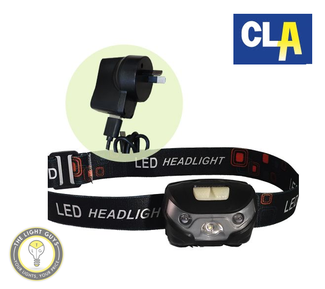 Cree XPE USB Rechargeable Headlamp - TheLightGuys