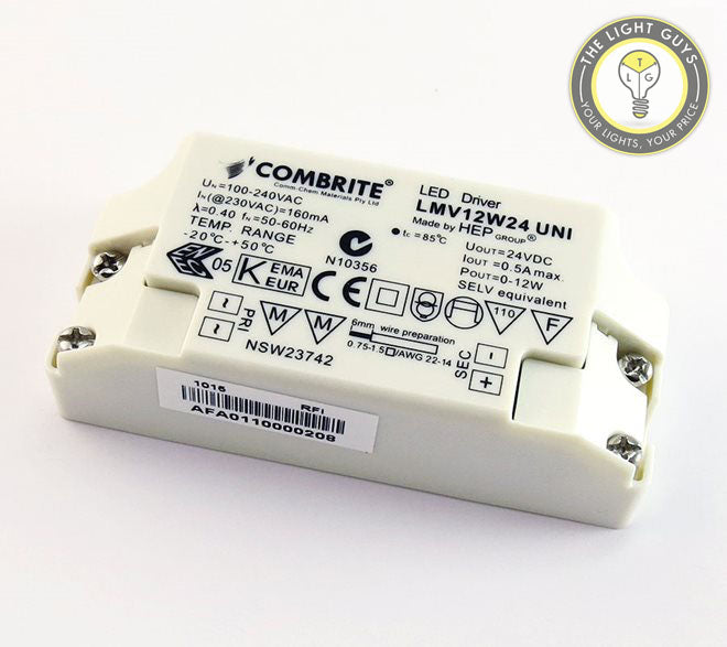GENERIC LED Constant Voltage Driver 12W | 36W | 60W | 100W | 150W 24V 240V - TheLightGuys