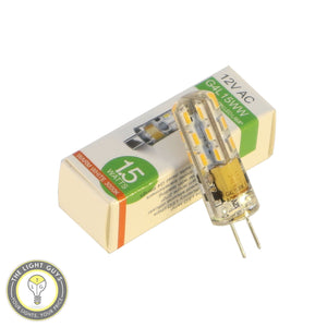 GENERIC LED G4 BI PIN 12V AC Warm White - TheLightGuys