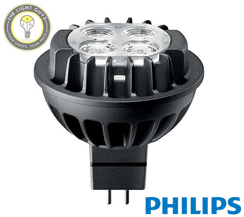 PHILIPS MasterLED MR16 7w 12v GU5.3 3000k | 4000k 60deg° Dimmable - TheLightGuys
