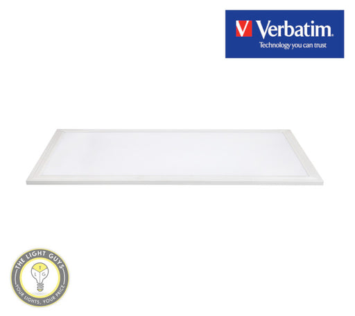 VERBATIM LED Slim Panel 595x295mm 18W 4000K | 5000K 1800lm - TheLightGuys