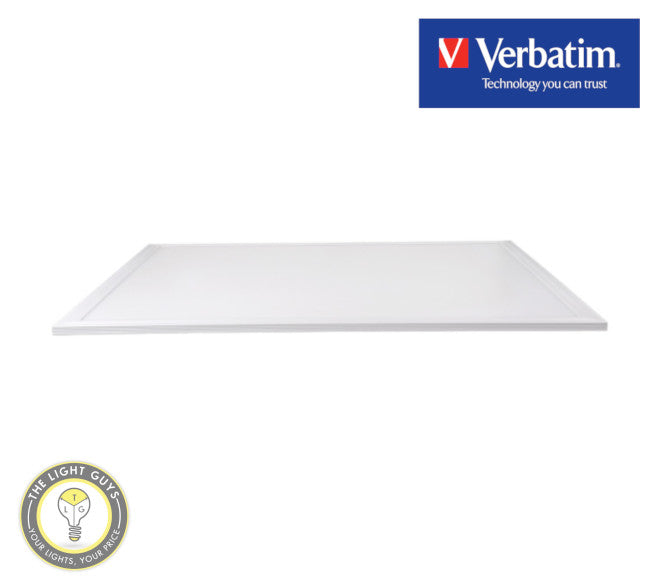 VERBATIM LED Slim Panel 595x595mm 40W 4000K | 5000K 4000lm - TheLightGuys