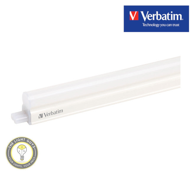 VERBATIM LED T5 Indoor Integrated Batten 7W 240V 600mm 3000K | 4000K | 6500K - TheLightGuys
