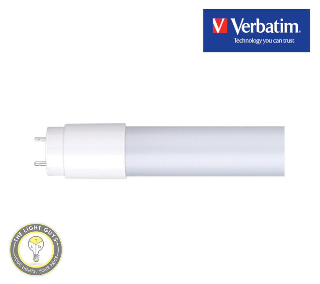 VERBATIM LED Tube T8 600mm 900lm 9W 240V 4000K | 6500K Non dimmable - TheLightGuys