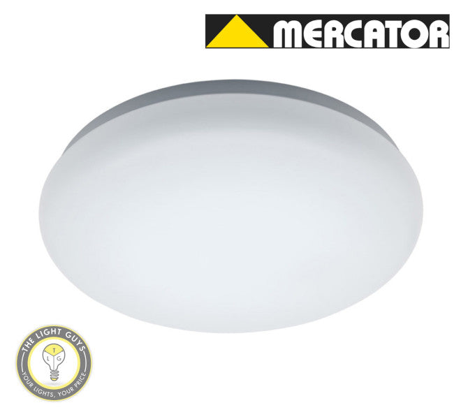MERCATOR Cloud LED Oyster 22W | 30W Tri Colour 3K/4K/6K 280mm | 360mm 120deg Dimmable - TheLightGuys
