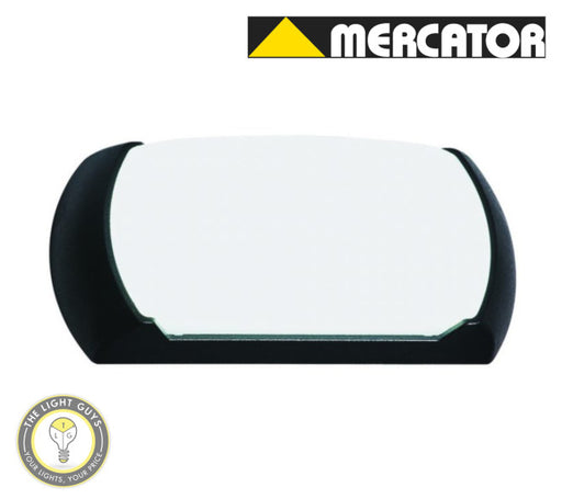 MERCATOR Black All-in-one LED Bunker 12W Tri Colour - TheLightGuys