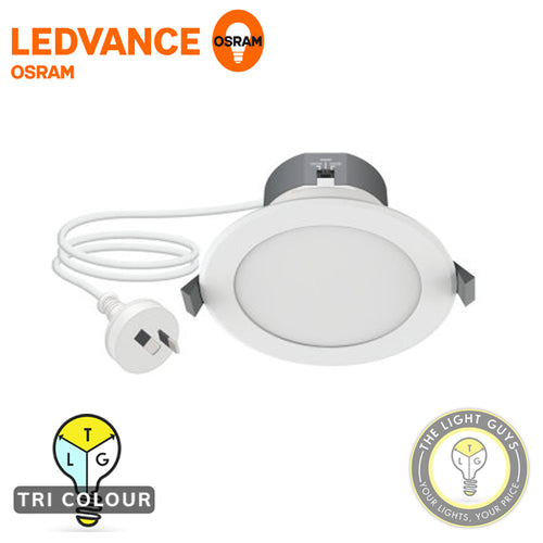 OSRAM LEDVANCE Superstar Tri Colour Downlight 8W 240V TRI COLOUR 3K/4K/5K - TheLightGuys