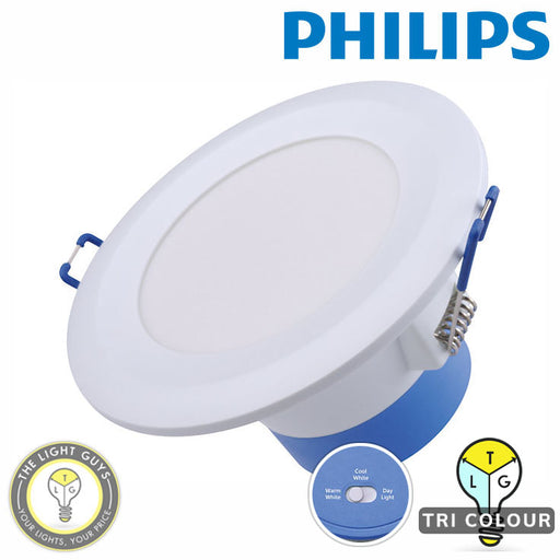PHILIPS Essential SmartBright G3 10W 240V Tri Colour 95mmØ | 155mmØ | 205mmØ Dimmable - TheLightGuys
