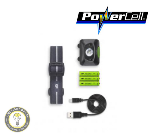 POWERCELL XPLOR GP Prosumer Headlamp PHR15 (Distance Sensor - Auto Dimming) - TheLightGuys