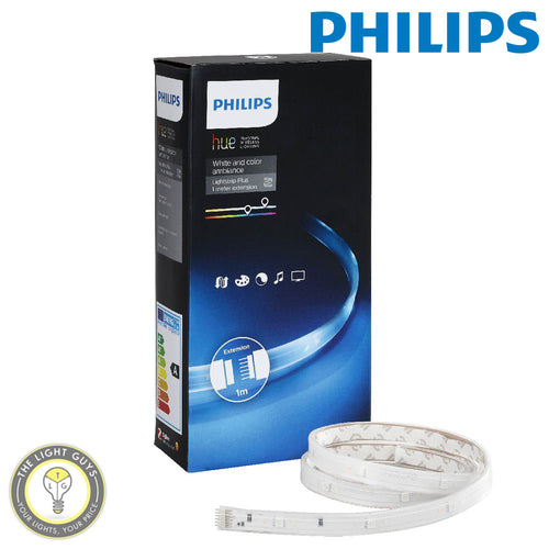 PHILIPS HUE Light Strip Plus 1 meter RGB extension - TheLightGuys