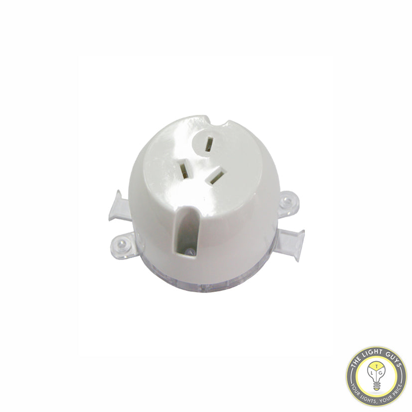 GENERIC Surface Mount 3 Pin plug socket - TheLightGuys