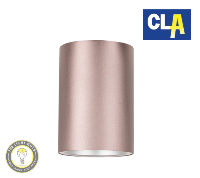 CLA GU10 Surface Mounted Ceiling Downlights (Globes not included) Matt White | Matt Black | Bright Gold | Coffee Liqueur - TheLightGuys